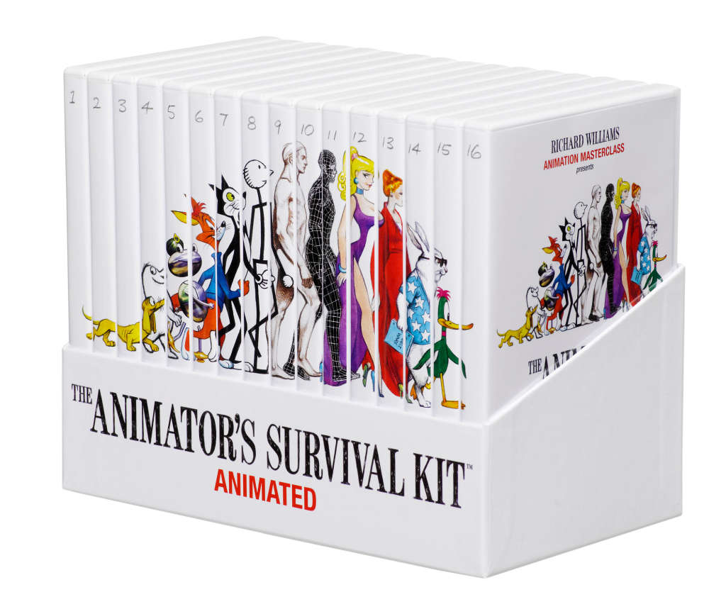 The Animator's Survival Kit - Animated (16 DVD Box Set)